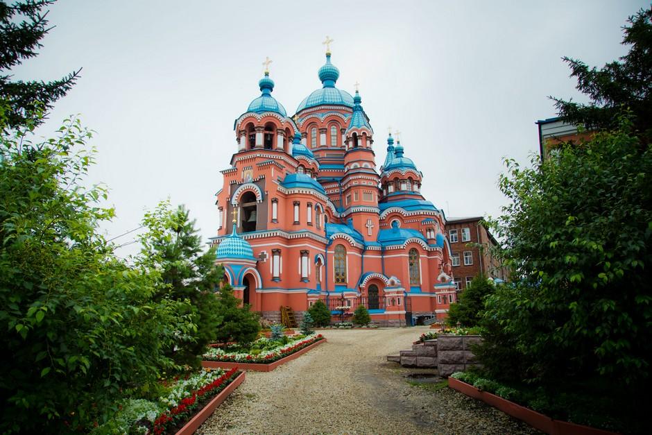 Cathédrale Kazan à Irkoutsk