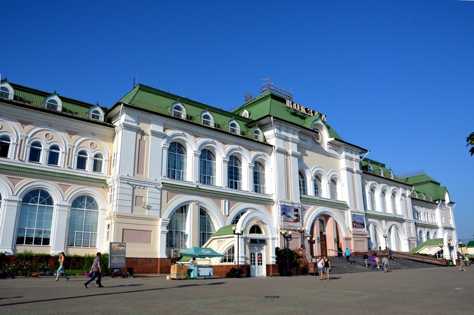 Gare de Khabarovsk