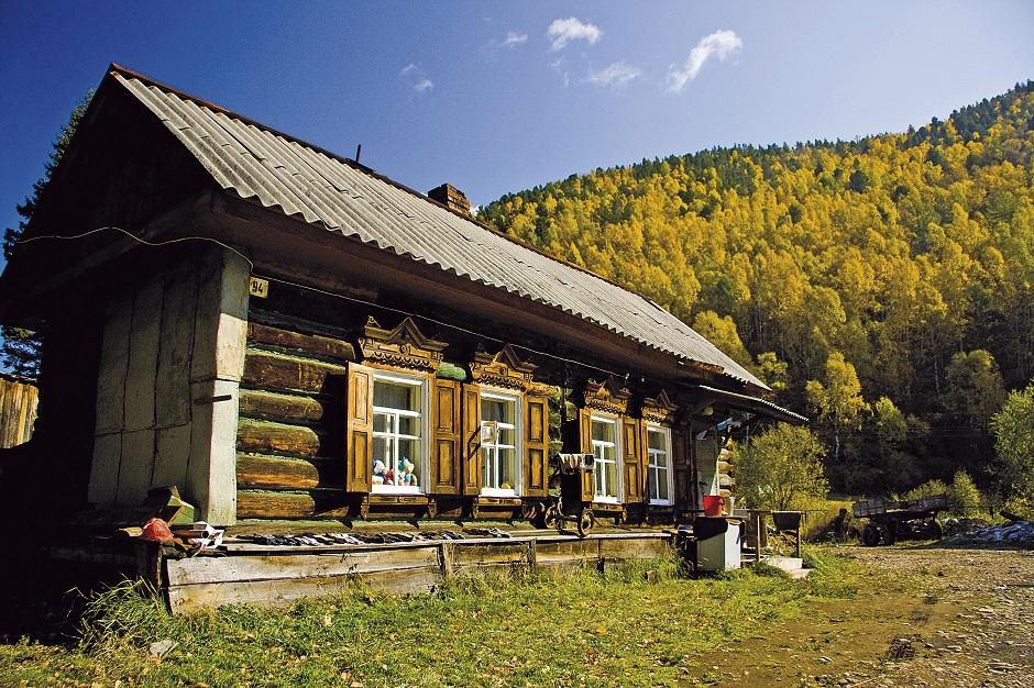 Maison de bois traditionnelle